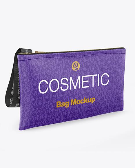 Cosmetic Bag Mockup