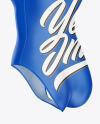 Women's Water Polo Suit Mockup