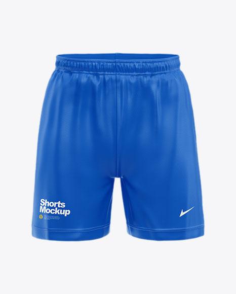 Shorts Mockup - Front View
