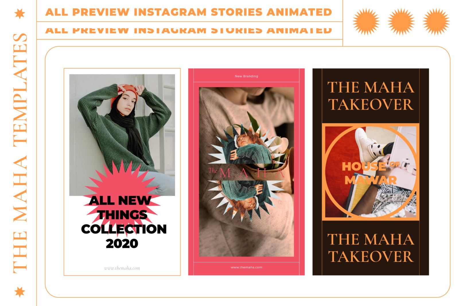 MAHA-Instagram Stories Animated Templates