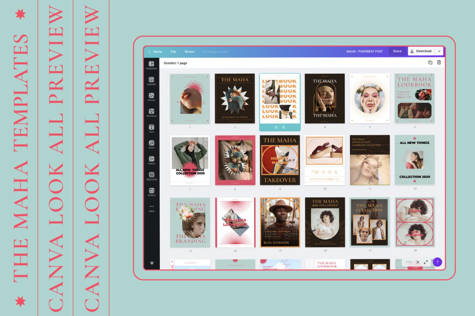 MAHA-Social Media Brand Templates