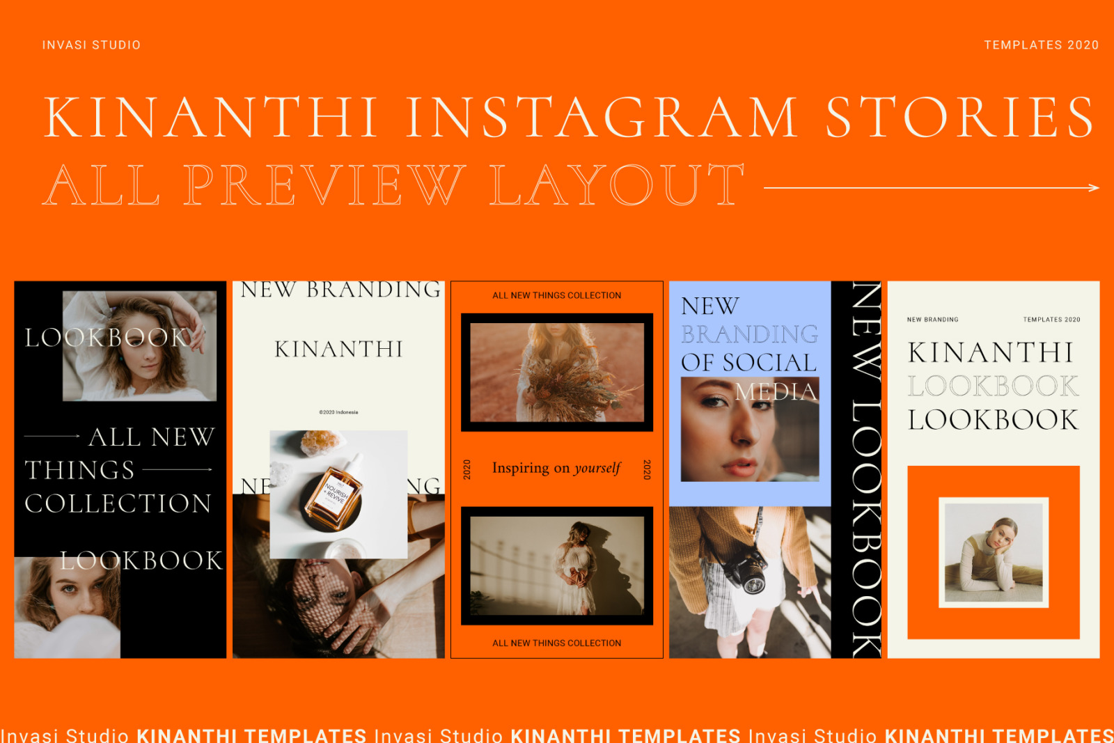 KINANTHI - Instagram Stories Animated