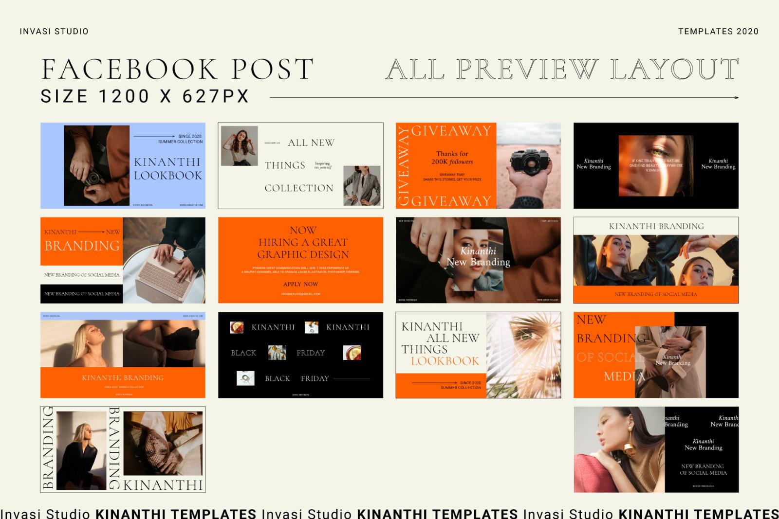 KINANTHI - Social Media Brand Templates