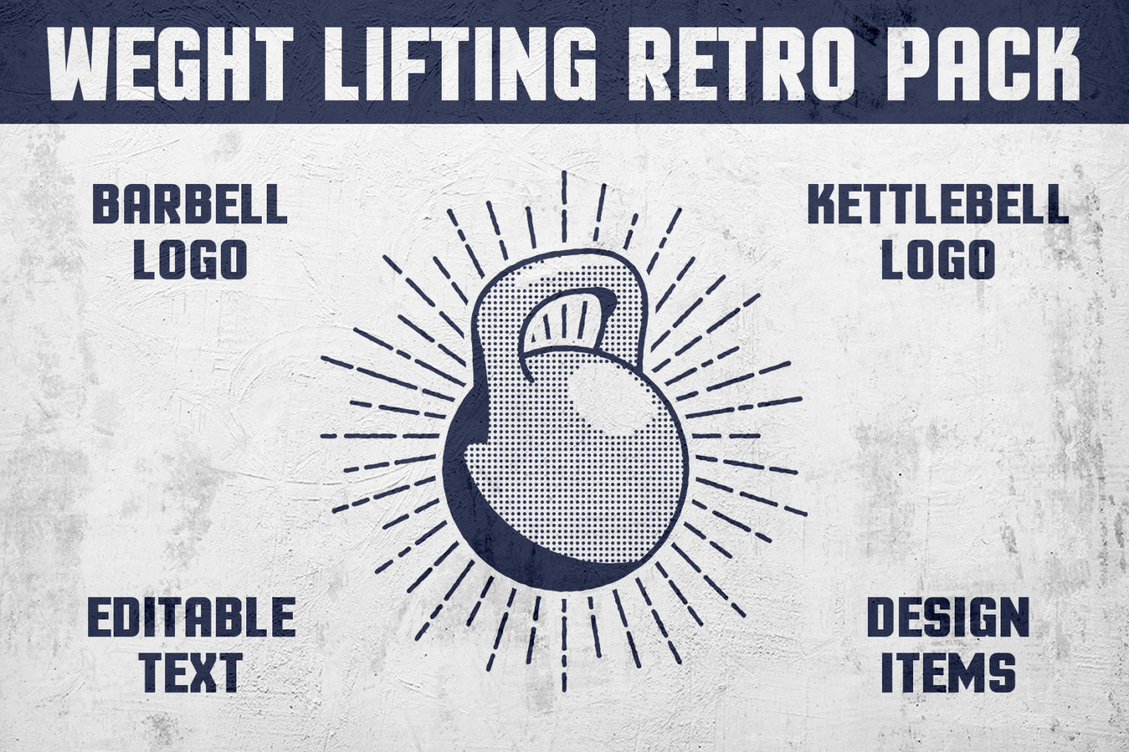 Weight Lifting Retro Pack
