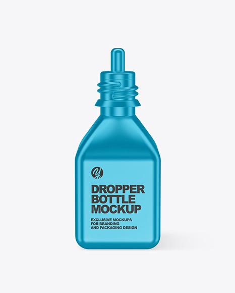 Download Plastic Dropper Bottle Box Mockup PSD - Free PSD Mockup Templates