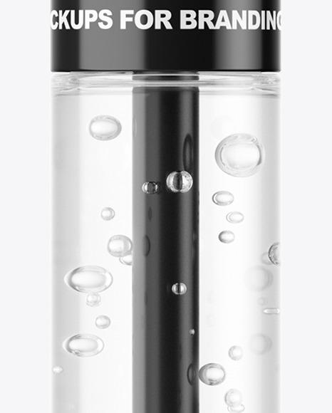 Clear Mascara Tube Mockup
