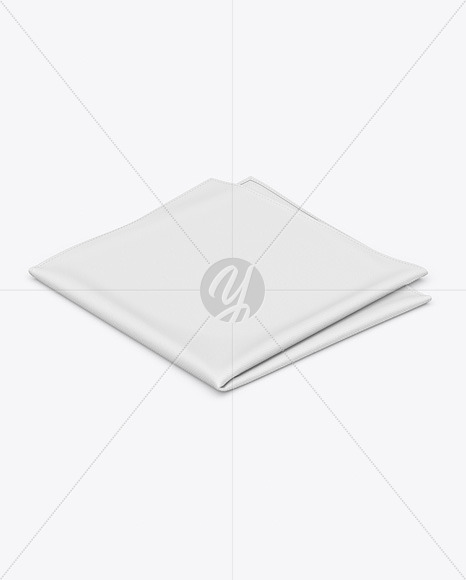 Pocket Square Mockup - High Angle Shot