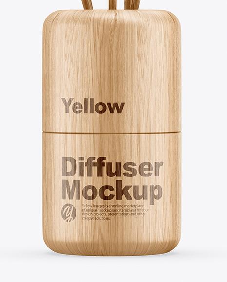 Wood Diffuser Mockup