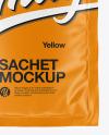 Matte Sachet Mockup