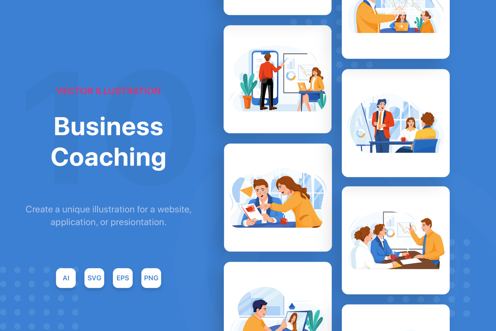 M126_Business Coaching Illustrations