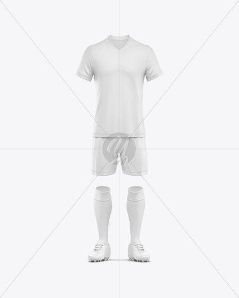 Football Kit Mockup - Front View