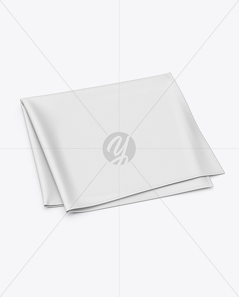 Pocket Square Mockup - High Angle Shot