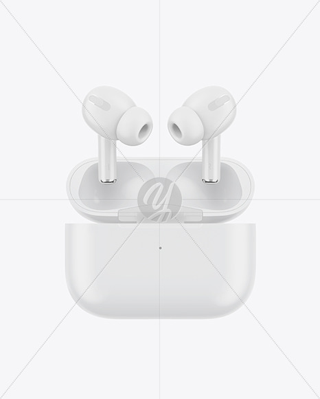 Matte Headphones Mockup