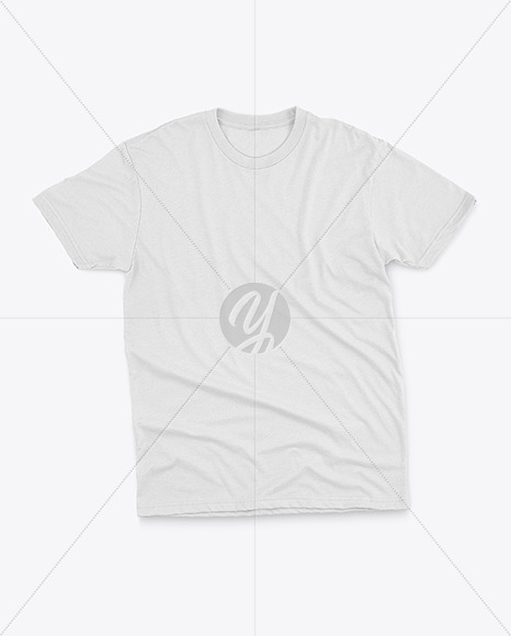 T-Shirt with Round Neck Mockup