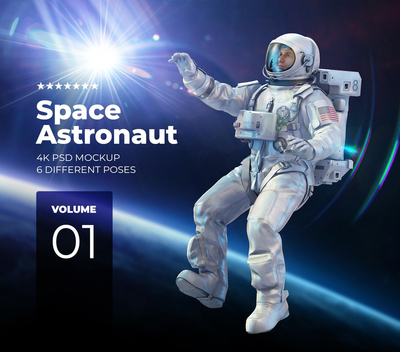 Space Astronaut #01