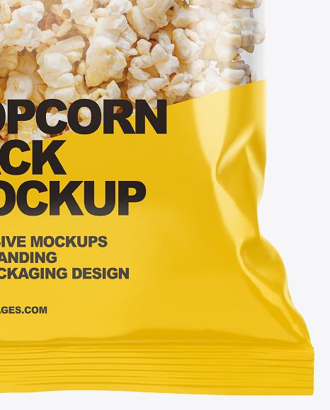 Popcorn Pack Mockup