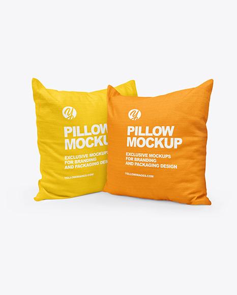 Two Pillows Mockup