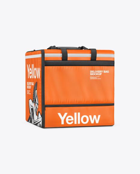 Vinyl Delivery Bag Mockup