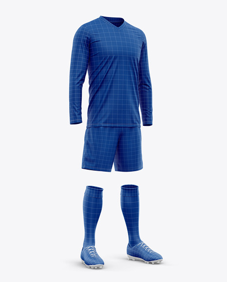 Men's LS Full Soccer Kit - Hero Shot