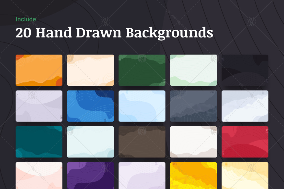 Hand Drawn Creative Bundle
