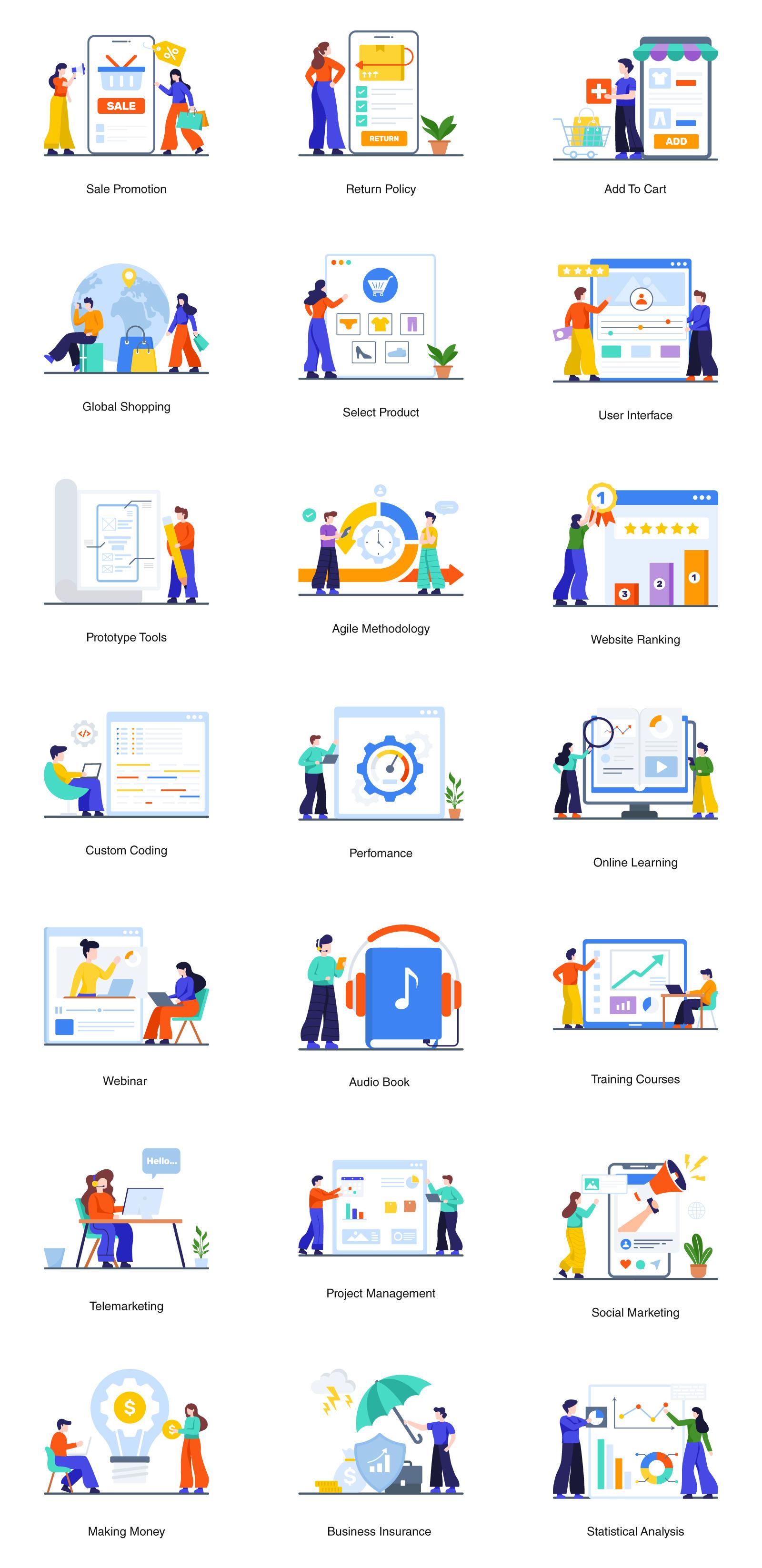 Business Illustrations