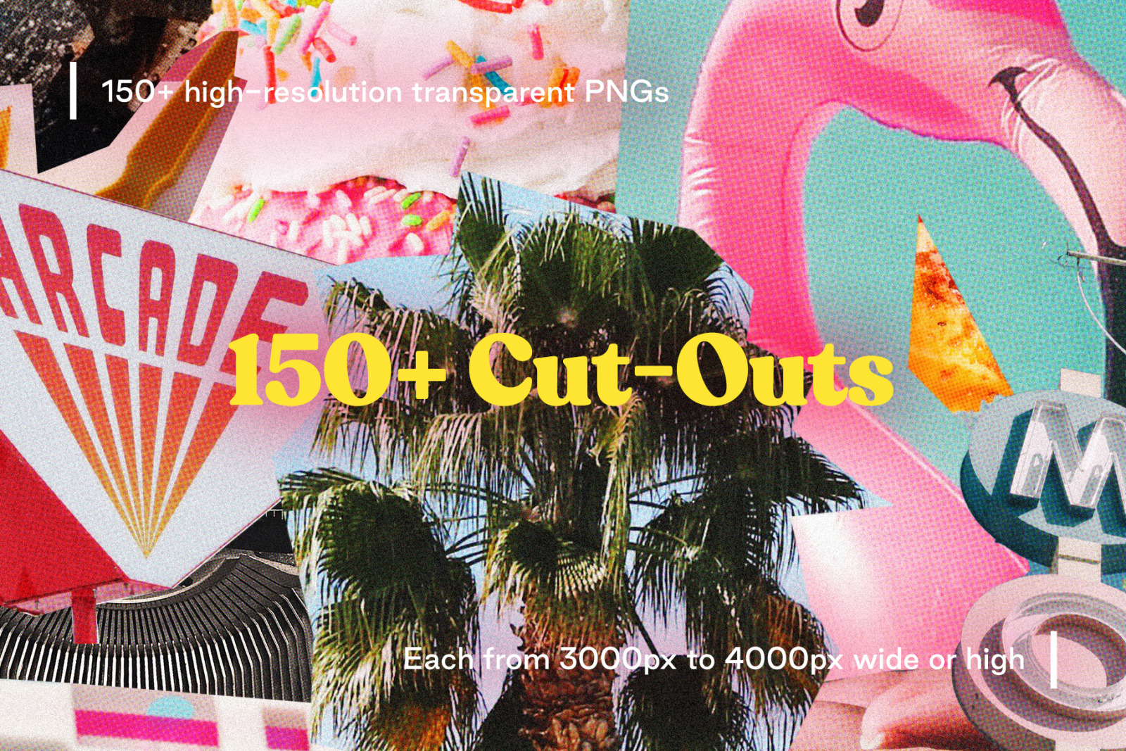 Collage - 150+ Vintage Style Cut-Outs