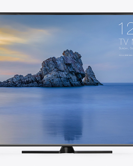 TV Mockup - Front View