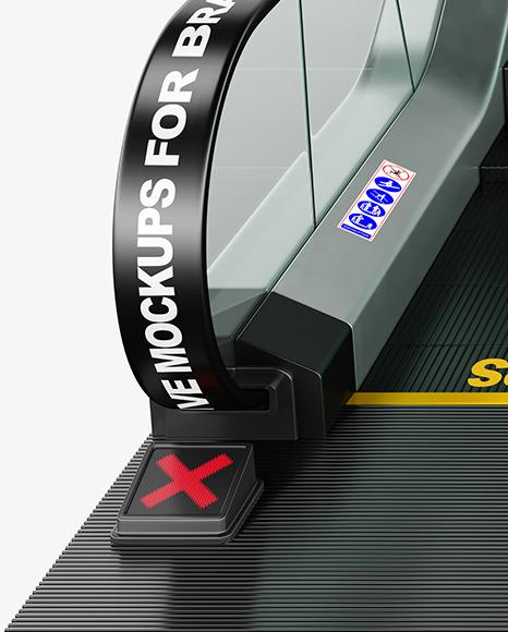 Double Escalator Mockup