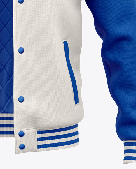 Men's Letterman Jacket or Varsity Jackets - Front View