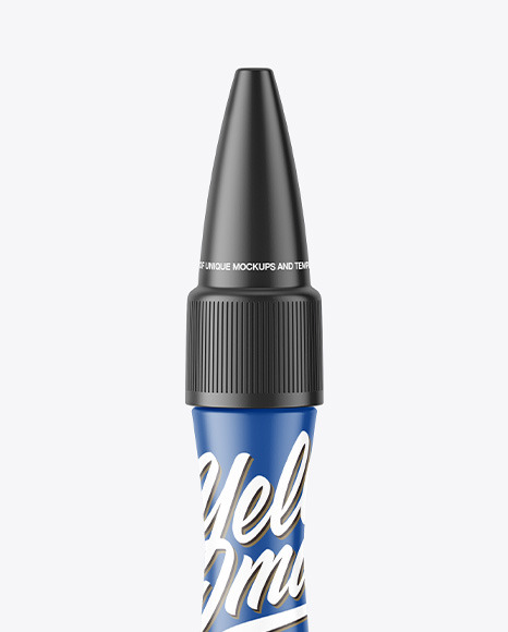 Matte Glue Pen Mockup