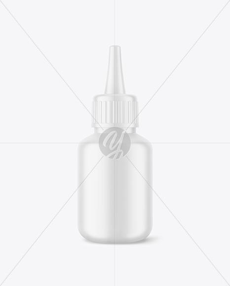 Matte Glue Bottle Mockup