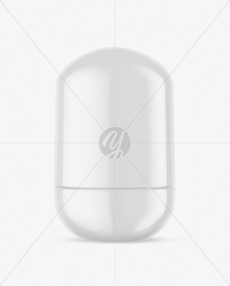 Glossy Roll-On Deodorant Mockup