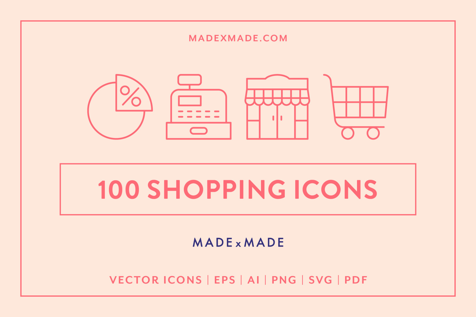 Line Icons – Shopping