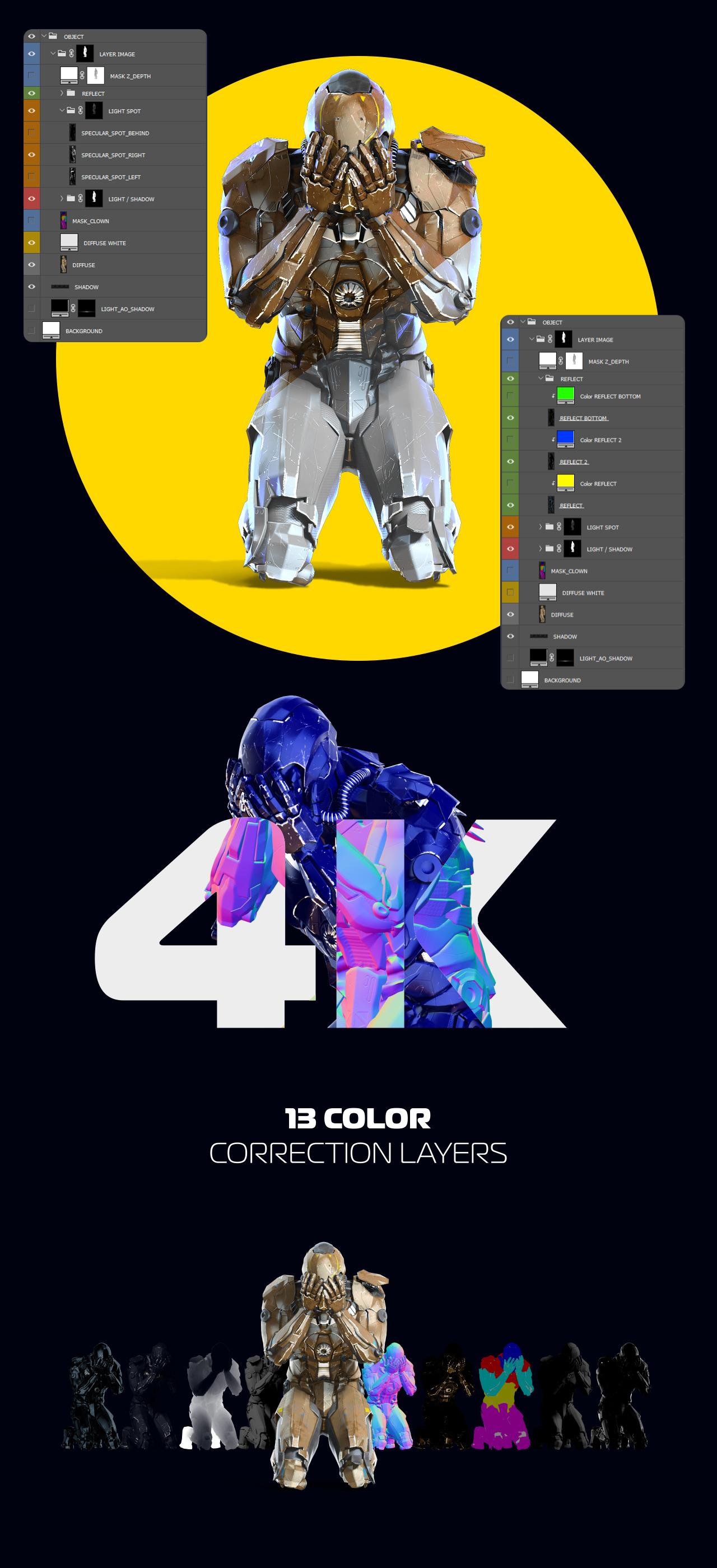 3D Mockup Security Robots #26