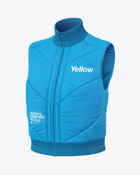 Download Glossy Womens Down Jacket Mockup Yellowimages