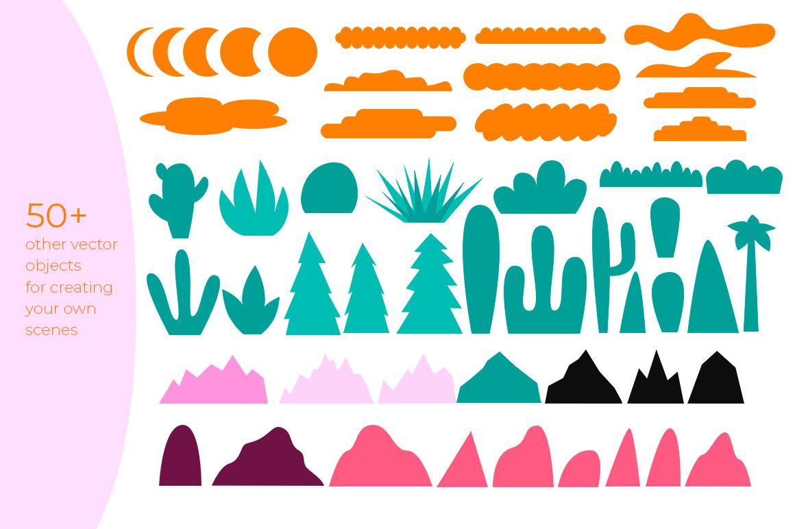 Mountain landscape creator
