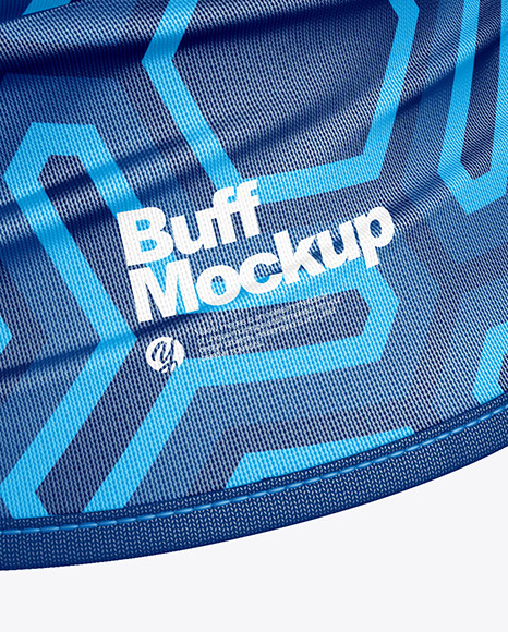 Buff Mockup - Half Side View