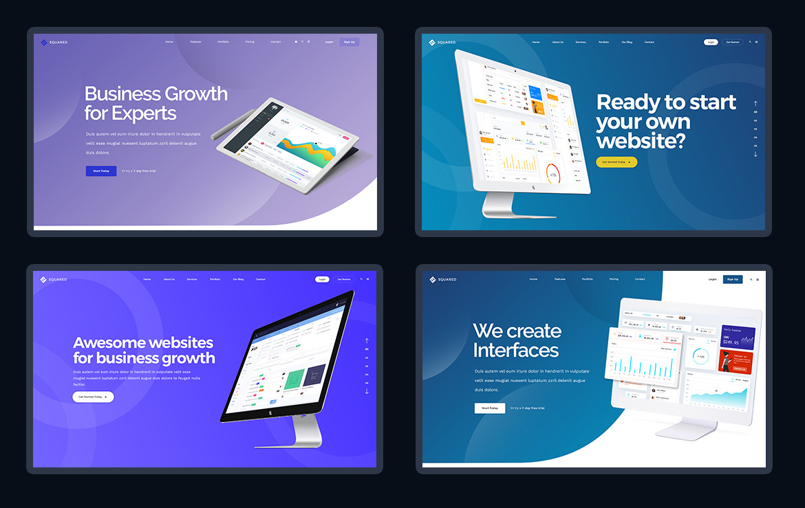 40 Website Presentation Headers