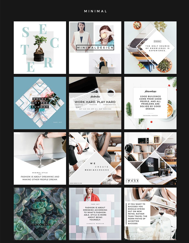 Instagram Social Media Banner Kit