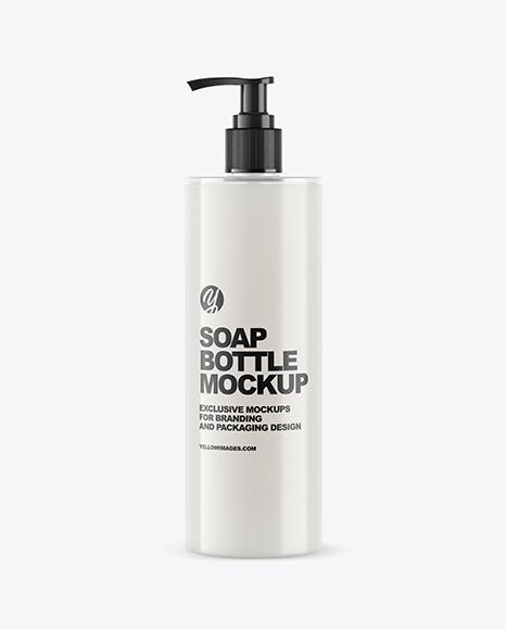 Soap Bottle with Pump