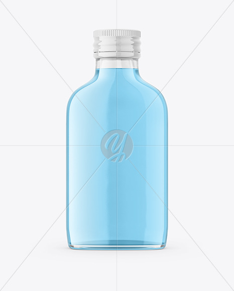 Download Clear Glass Alcohol Bottle Mockup In Bottle Mockups On Yellow Images Object Mockups Yellowimages Mockups