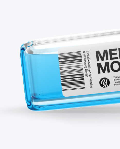 Medical Vial Mockup