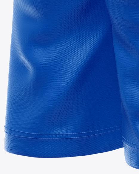 Shorts Mockup - Half Side View