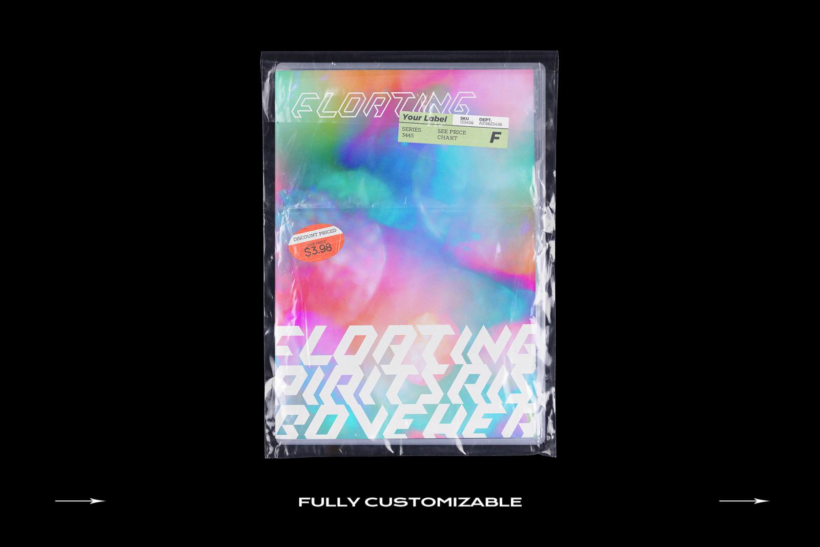 DVD Case Mockup Template Bundle Disc
