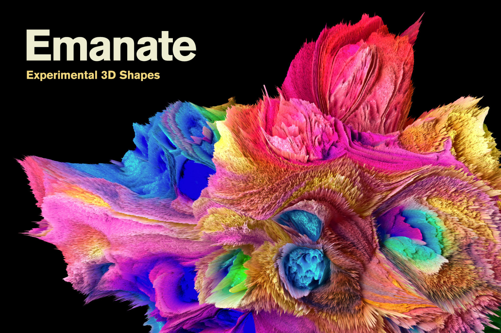 Emanate: Experimental 3D Shapes