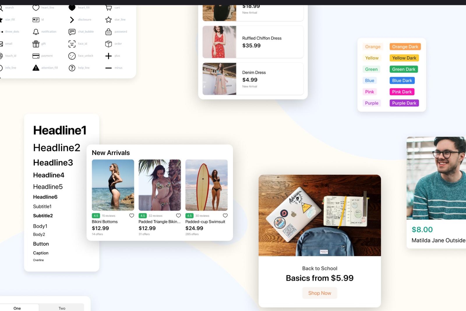 Fluik - E-commerce App UI Kit