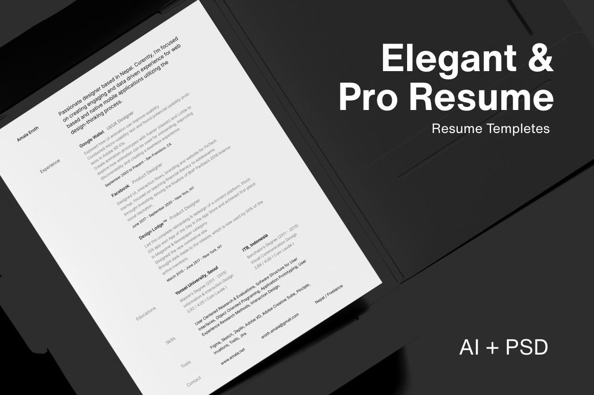Elegant & Pro Resume