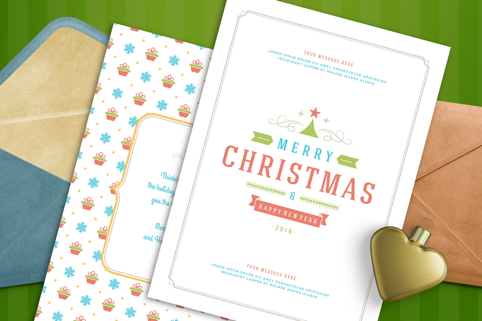 Christmas 30 labels and badges