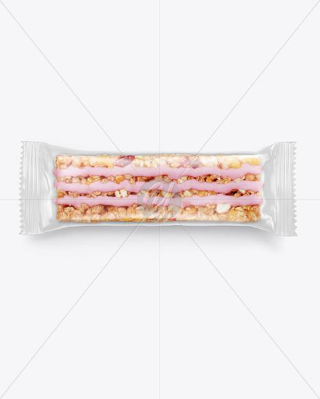 Muesli Snack Bar Mockup