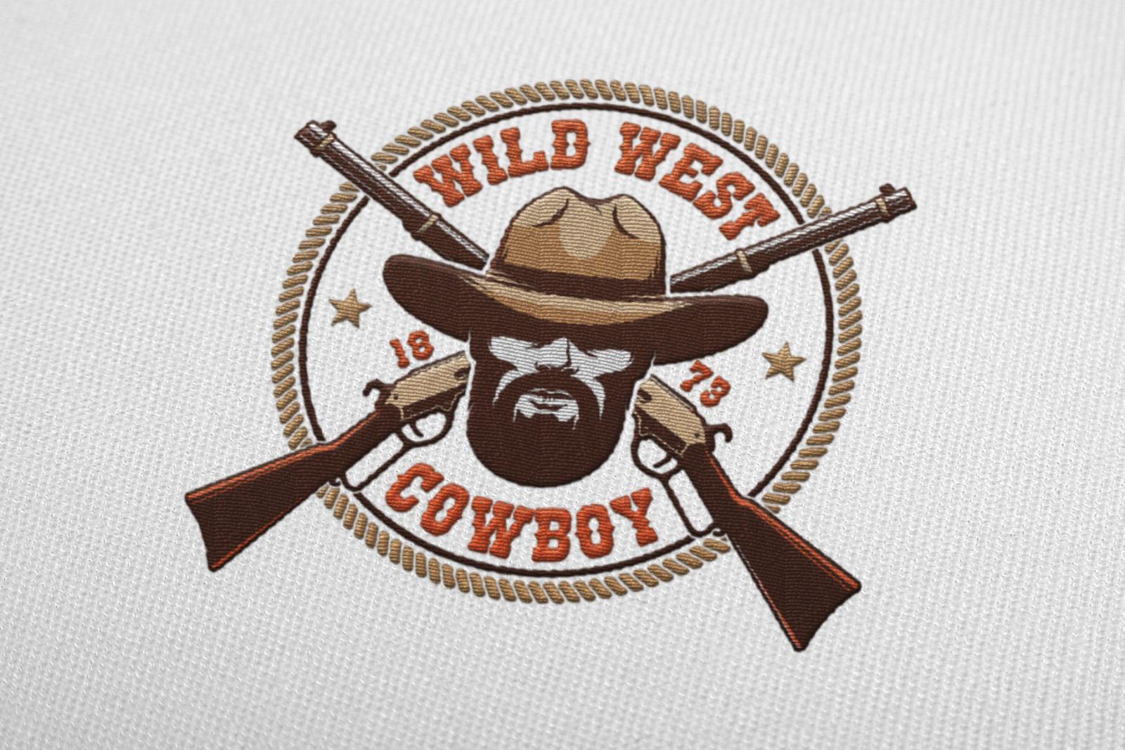 Cowboy Western Logo Template Pack
